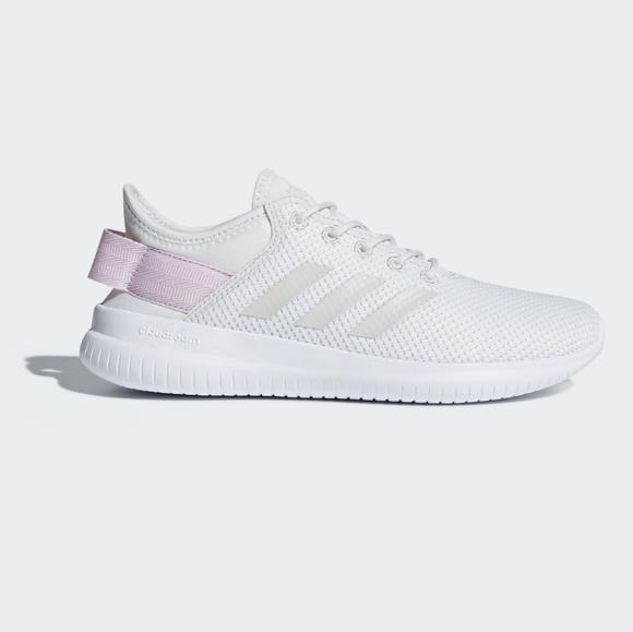 adidas schuhe cloudfoam qt - flex - sport whitepink poshmark